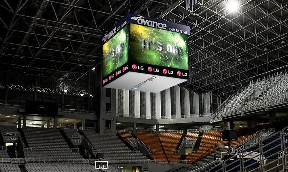 Παναθηναϊκός ΟΠΑΠ: Αποκαλυπτήρια του Jumbotron στο 2ο «Τουρνουά Παύλος Γιαννακόπουλος»