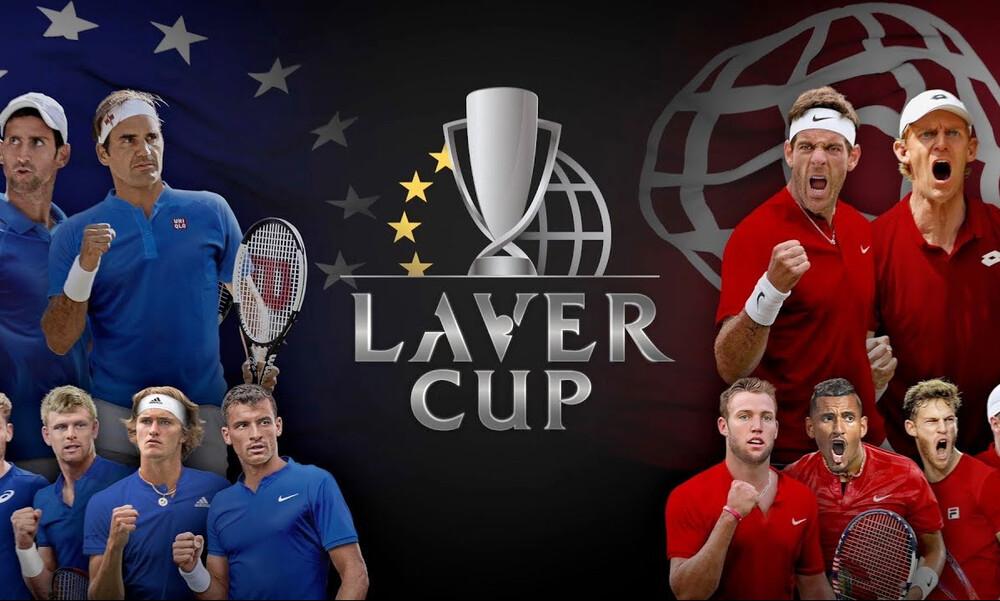 Laver Cup: Ζευγάρι με Ναδάλ απόψε ο Τσιτσιπάς κόντρα σε Κύργιο/Σοκ