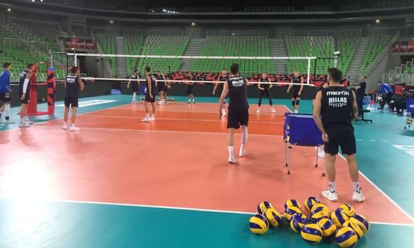 Εθνική βόλεϊ Ανδρών: Πρωινό χαλάρωμα πριν το ματς με τη Ρωσία