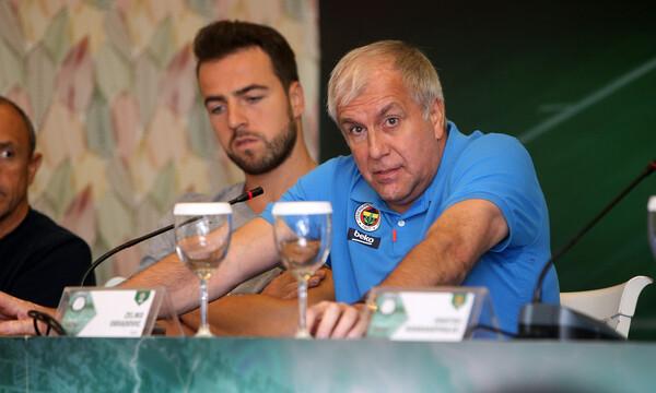 Ομπράντοβιτς: «Ξεχωριστή εμπειρία να τιμήσουμε όλη την οικογένεια Γιαννακόπουλου»