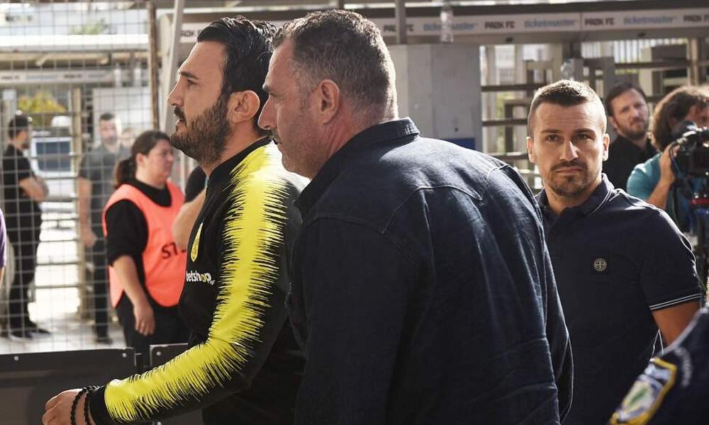 ΠΑΟΚ-Άρης: Στα... κιτρινόμαυρα στην Τούμπα ο Καρυπίδης! (photos)