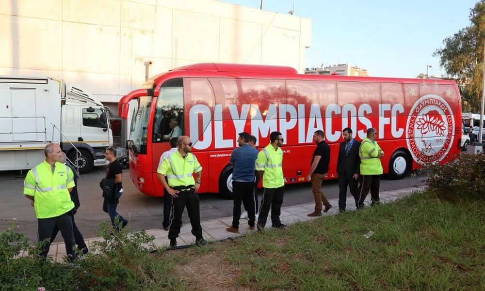 Παναθηναϊκός – Ολυμπιακός: Στο ΟΑΚΑ οι «ερυθρόλευκοι» (video+photos)