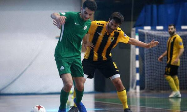 Ποδόσφαιρο σάλας: Νίκη της ΑΕΚ στο ντέρμπι με τον Παναθηναϊκό