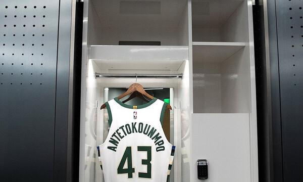 NBA: Παρουσιάστηκε η φανέλα του Θανάση Αντετοκούνμπο (photos)