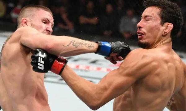 Η ανάποδη μπουνιά στο UFC  πόνεσε ακόμα και μας