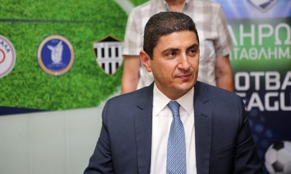 Αυγενάκης: «Οι εμπρηστικές δηλώσεις δεν συμβάλουν στη βελτίωση του ποδοσφαίρου»