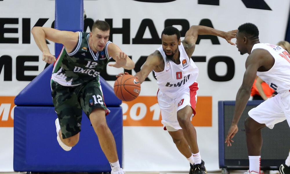 Ούνικς Καζάν-Ολυμπιακός 66-70: Γλύτωσε και πέρασε στον τελικό (photos)