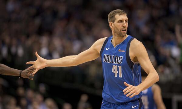 NBA: Και εγένετο… «Nowitzki Way»! (video)