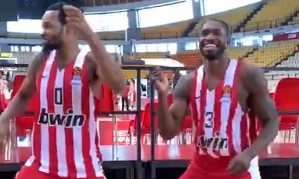 Ολυμπιακός: Πάντερ και Πολ σε… τρελό χορευτικό στη Media Day (video)