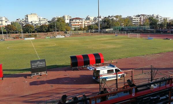 Τραγωδία στην Καλαμαριά: Οπαδός έχασε τη ζωή του στο Απόλλων Πόντου-Χανιά (photos)