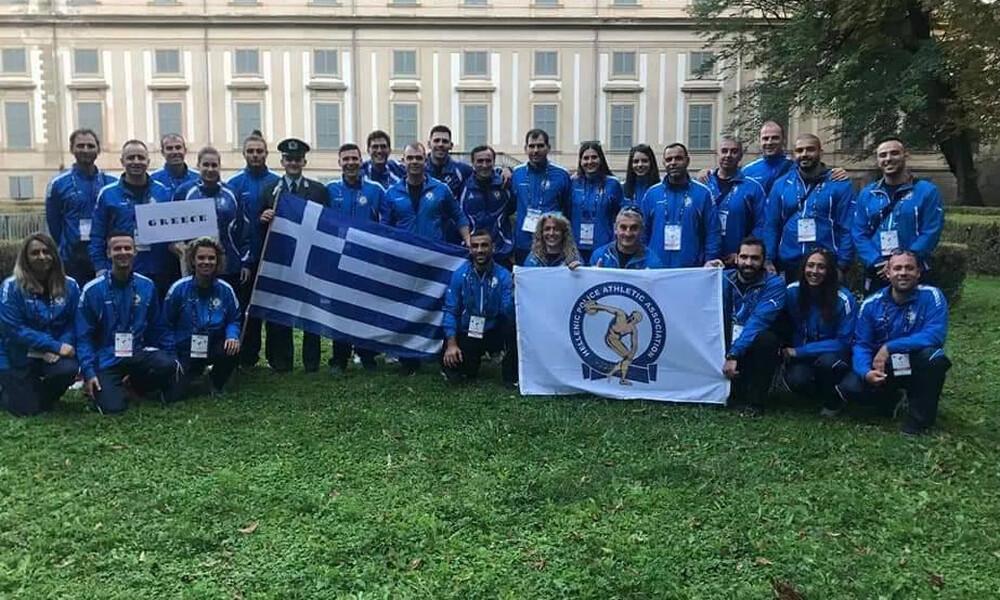 Με πέντε μετάλλια επέστρεψε από το Παγκόσμιο η Αθλητική Ένωση Αστυνομικών Ελλάδος