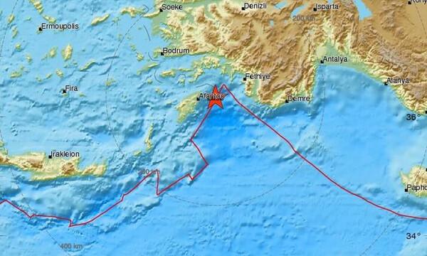 Σεισμός ΤΩΡΑ στη Ρόδο - Αισθητός σε πολλές περιοχές