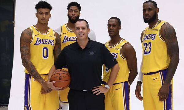 NBA: Τα σχέδια των Λέικερς για τη νέα σεζόν (photos+video)