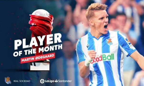Ο Όντεγκααρντ ο καλύτερος παίκτης του μήνα στη La Liga! (photos+video)