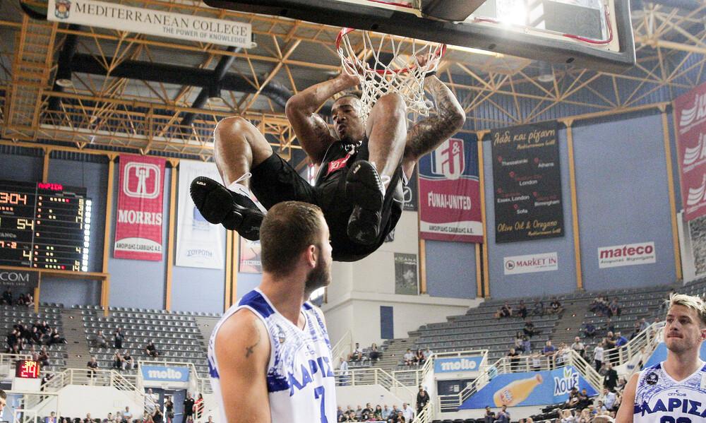 Basket League: H εύκολη νίκη του ΠΑΟΚ κόντρα στη Λάρισα  (video)