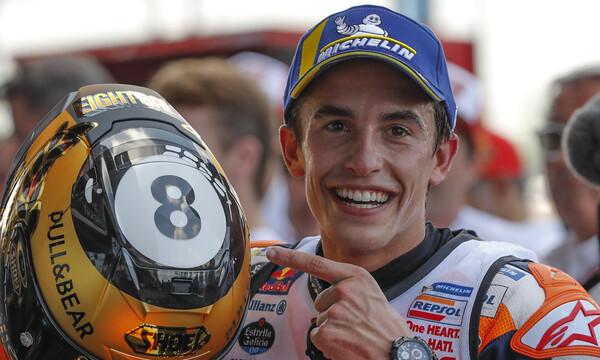 Moto GP: Εύκολα τον τίτλο ο Μαρκέθ (video)