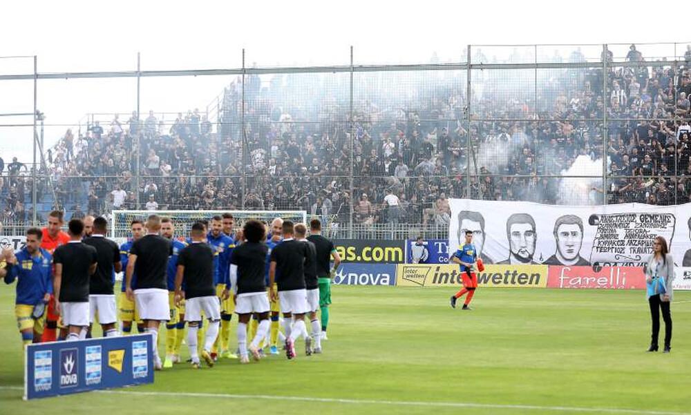 Συγκίνηση στην Τρίπολη: Έτσι τίμησαν τα «αετόπουλα» παίκτες και οπαδοί του ΠΑΟΚ (photos)