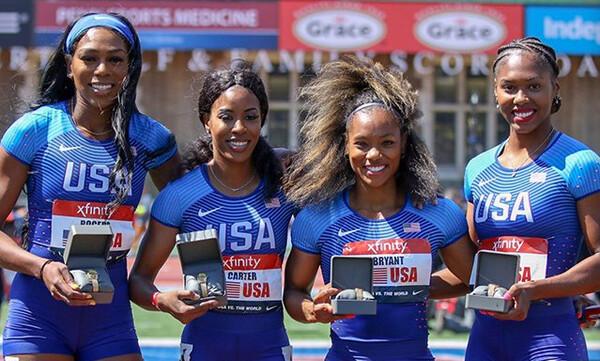 Στίβος: Οι ΗΠΑ διατήρησαν τον τίτλο τους με κορυφαία εφετινή επίδοση στα 4Χ400