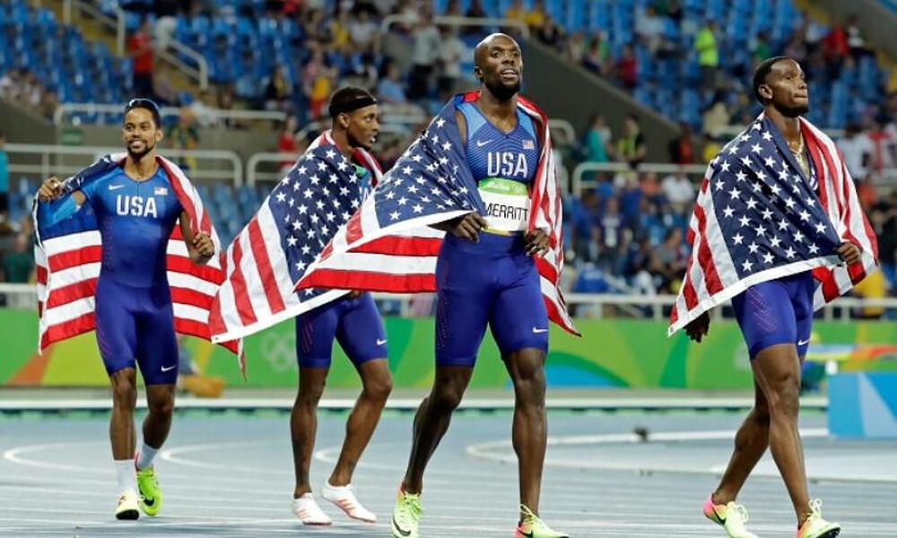 Στίβος: Οι ΗΠΑ επανήλθαν στην κορυφή με 2:56.69