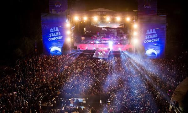 Αll Stars Concert: Ρουβάς, Παπαρίζου και Φουρέιρα ξεσηκώσαν περισσότερους από 12.000 θεατές