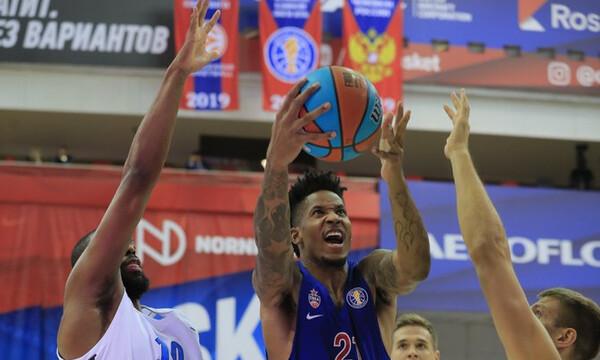 Νέο «χαστούκι» για την ΤΣΣΚΑ, ήττα 79-82 μέσα στη Μόσχα από τη Ζενίτ!