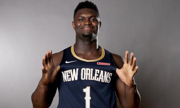 NBA: Τρελαίνει κόσμο στην pre season ο Ζάιον (photos+video)