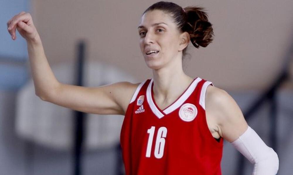 Ολυμπιακός: Σε αρθροσκόπηση υποβλήθηκε η Άννα Σπυριδοπούλου