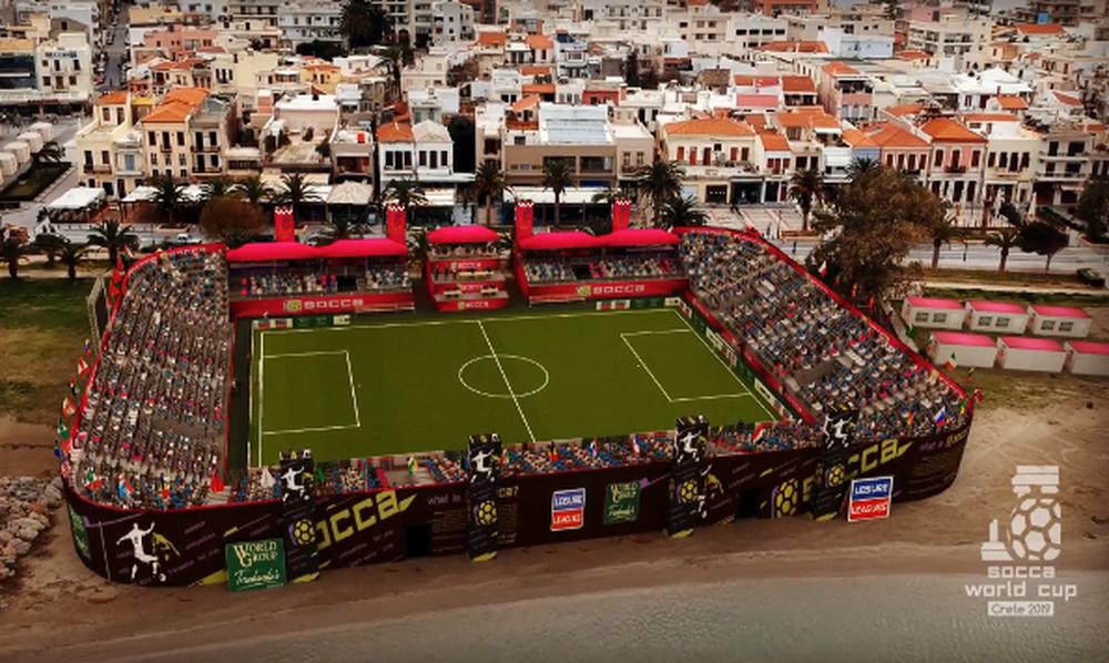 Με Κατσουράνη η Ελλάδα στο Socca World Cup 2019