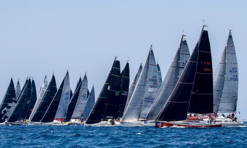 Μεγάλη συμμετοχή στο 29ο Athens International Sailing Week 2019