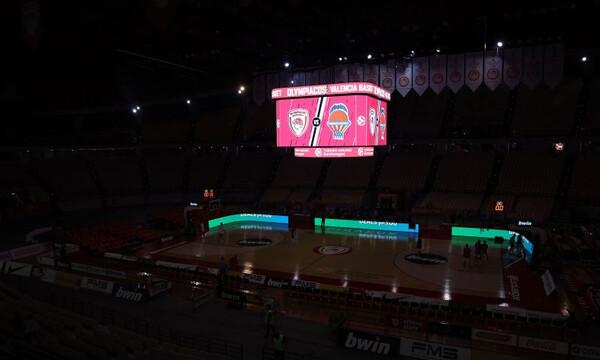 Ολυμπιακός – Βαλένθια: Σε λειτουργία το cube στο ΣΕΦ (photos)