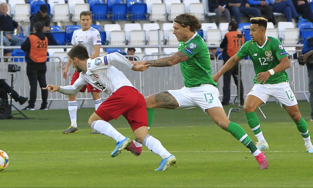 EURO 2020: «Κόλλησε» στην Τιφλίδα η Ιρλανδία (video)