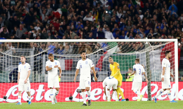 Ιταλία-Ελλάδα 2-0: Τη λύγισε το πέναλτι και ηττήθηκε (videos+photos)
