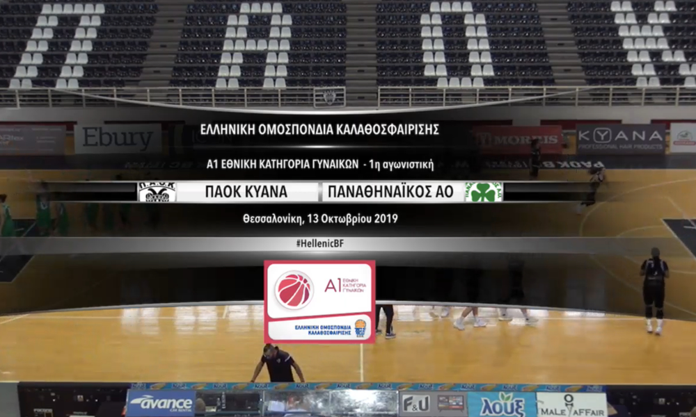 Live streaming ΠΑΟΚ - Παναθηναϊκός