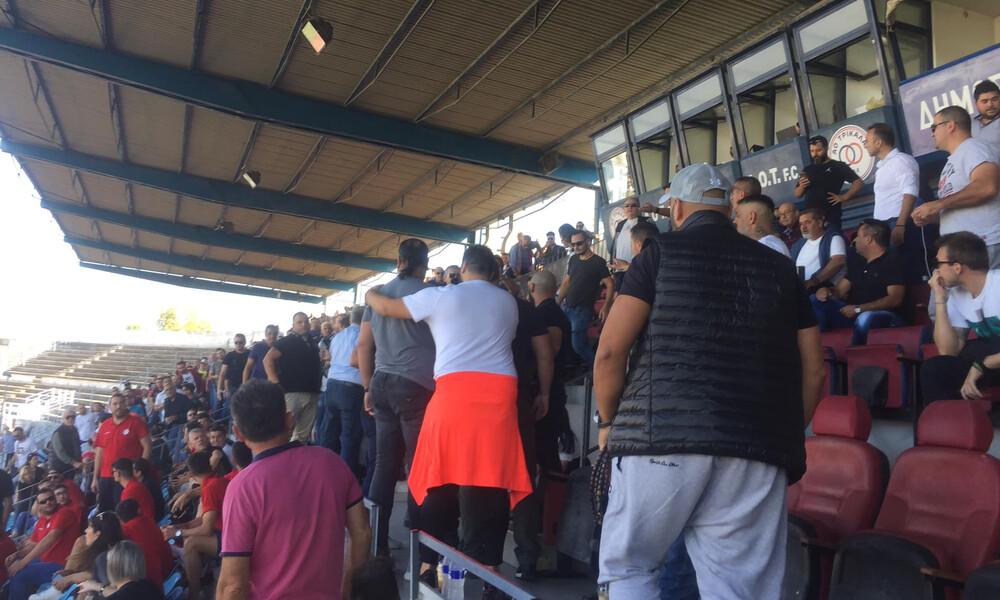 Τρίκαλα-Ολυμπιακός Βόλου: Ένταση στα επίσημα μεταξύ προέδρων (photos+video)