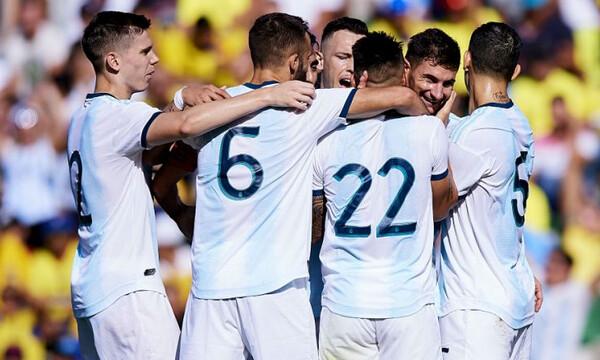Ξέσπασαν οι «ρεζέρβες» της Αργεντινής (video)