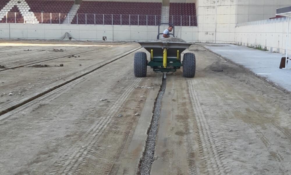 ΑΕΛ: Μπαίνει σύστημα αποστράγγισης στο AEL FC Arena