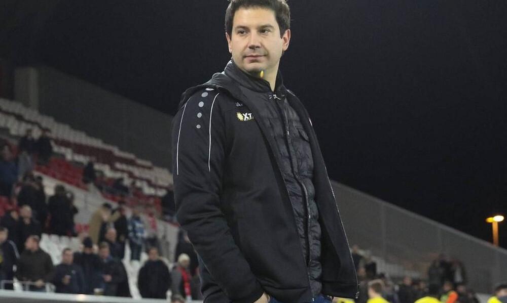 Γιαννίκης: «Ελπίζω να σταματήσει αυτό που γίνεται στη Super League 2»