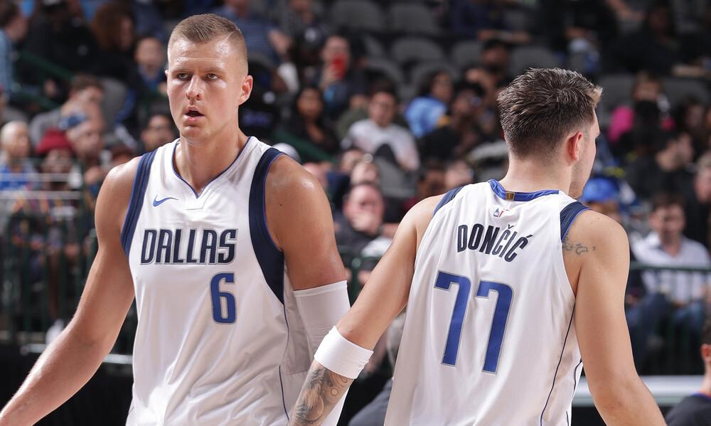 NBA: Διαλύει τα πάντα στο διάβα του το δίδυμο Ντόντσιτς-Πορζίνγκις (video+photos)