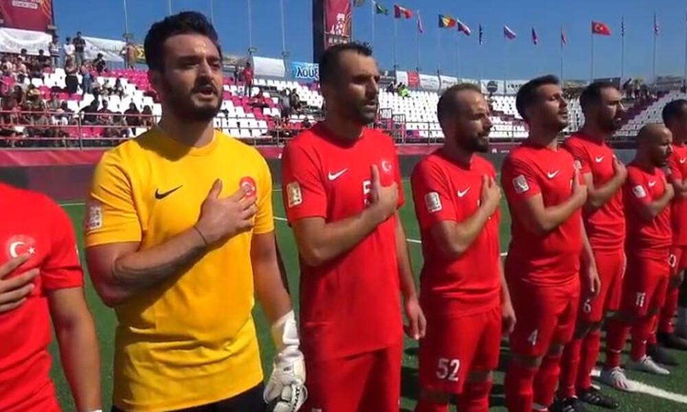 Socca World Cup: Διακοπή σε αγώνα στο Ρέθυμνο λόγω… Τουρκίας! (video+photos)