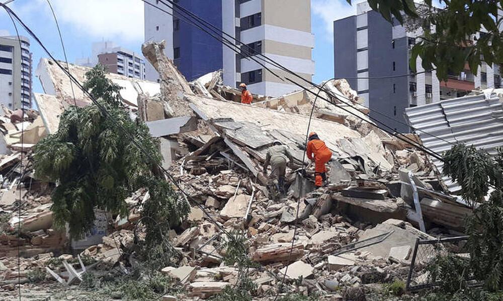 Βραζιλία: Κατέρρευσε πολυκατοικία - Τουλάχιστον ένας νεκρός