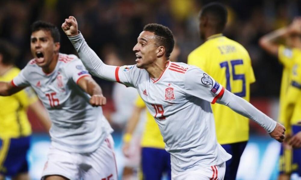 Προκριματικά Euro 2020: Πέρασε η Ισπανία, ξέρανε την Ρουμανία η Νορβηγία (videos)