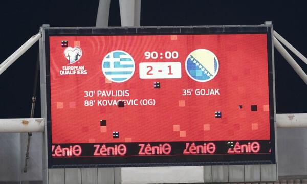Ελλάδα – Βοσνία 2-1: Τα highlights από την εξαιρετική εμφάνιση της εθνικής (video)