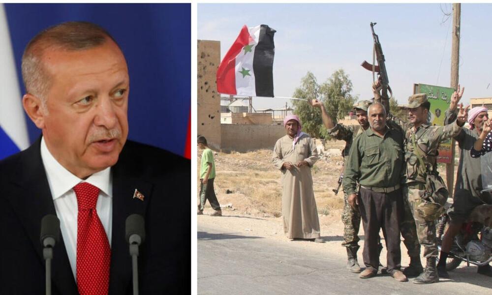 Σε «κινούμενη άμμο» ο Ερντογάν: Αυτή είναι η συμφωνία Άσαντ - Κούρδων με «πατέρα» τον Πούτιν