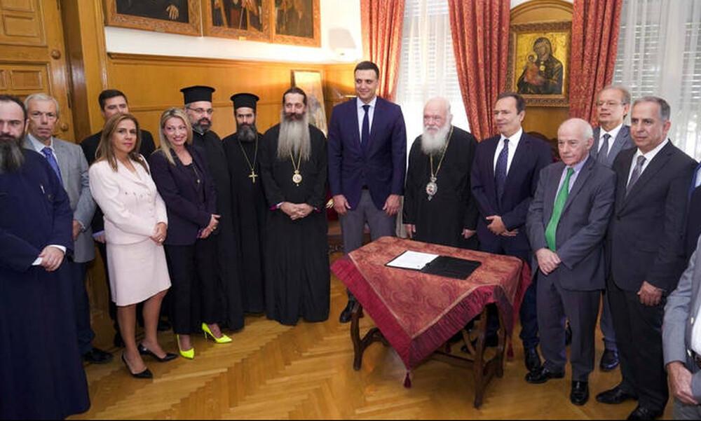 Δωρεάν φάρμακα από την ΠΕΦ στα κοινωνικά φαρμακεία της Αρχιεπισκοπής Αθηνών
