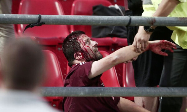 Ολυμπιακός: Έρχεται βαριά… καμπάνα από την UEFA για τα αίσχη στου Ρέντη! (video+photos)