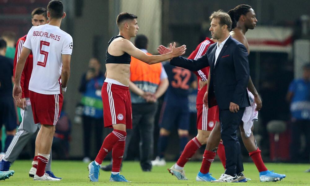 Ραντζέλοβιτς: «Είμαι υπερήφανος για την ομάδα μου»