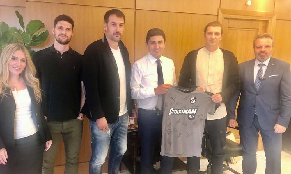 Συναντήσεις Αυγενάκη με τα προεδρεία των επαγγελματιών αθλητών