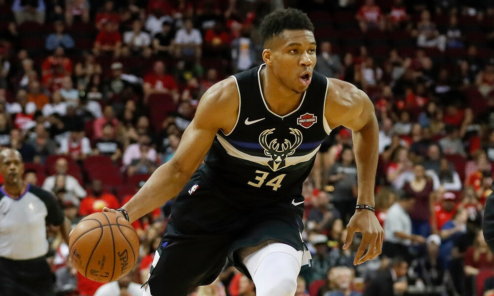 NBA: Θρίαμβος Γιάννη μέσα στο Χιούστον! (photos+videos)
