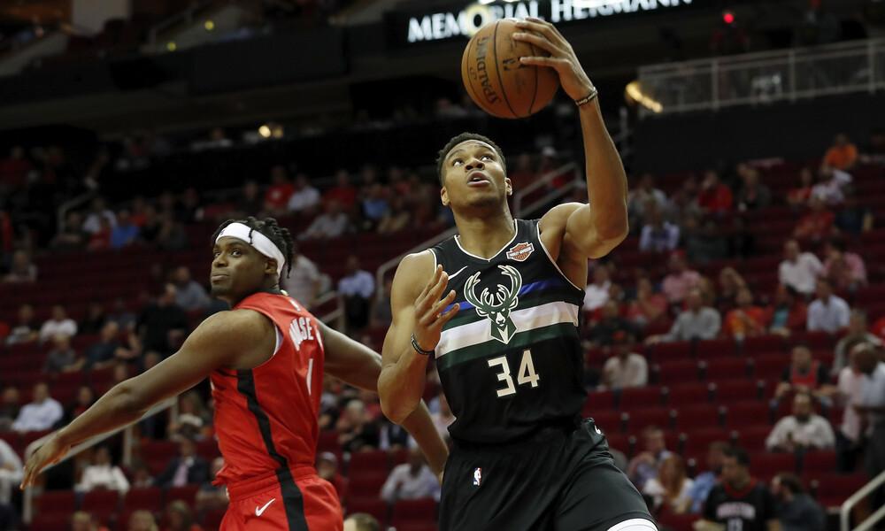 NBA: Τα highlights του Γιάννη Αντετοκούνμπο (video+photos)