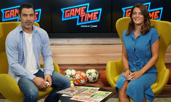 O Άκης Ζήκος μιλάει για το Ολυμπιακός-ΑΕΚ στο Game Time του ΟΠΑΠ